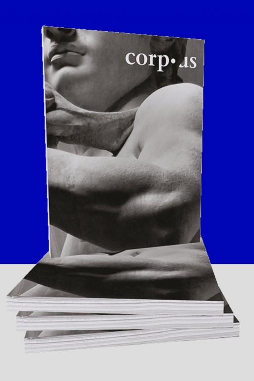 Kaja Poestges corp•us – cover design